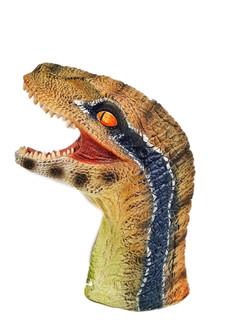 12-inch raptor hand puppet head