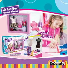 3D Art Box Fashion Dress Party