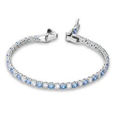 -5536469-Tennis Dlx:Bracelet Rnd Dlx  M