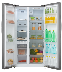 689 gross side by side  Refrigerator  Frost Free Multi Air Flow