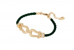 Aigner Bracelet GLD/STO/GREEN M AJ67206