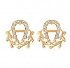 Aigner   Earring Gld/Sto Aj84949