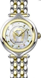 Aigner Lady SS/GLD BRAC (18 DIAMONDS) M A141203