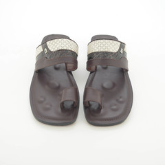 AlKhamis Shoes Men's Sandals  Dark Brown