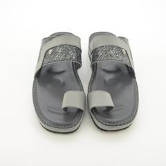AlKhamis Shoes Men's Sandals  Grey