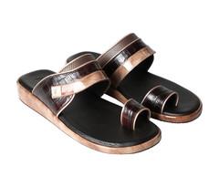 Amwaj Men's Beige Sandals 40
