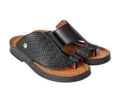 Amwaj Men's Black Sandals 40