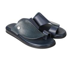 Amwaj Men's Dark Blue Sandals 40