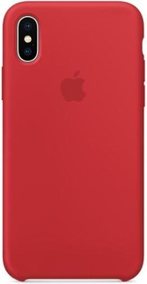 APPLE iPhone X Silicone Case RED MQT52