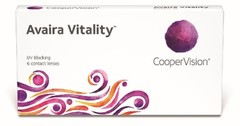Avaira Vitality - 6 lenses -0.50