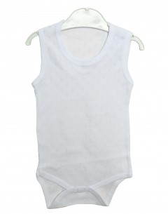 Baby Boy'S  Body Suit Jaquard 0-3mths