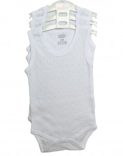 Baby Boy'S  Body Suit Pack Of 3 Jaquard     0-3mths