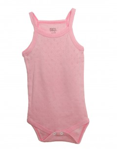 Baby Girl'S  Body Suit Jaquard 0-3mths