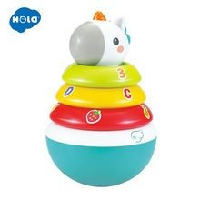 Baby Tower Stacker for Toddlers Stacking Rings Toy
