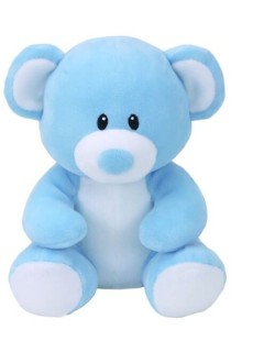 Baby Ty Bear Lullaby Blue Med 10In