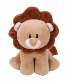 Baby Ty Lion Bouncer Brown Medium 10In