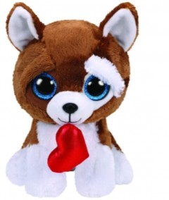 Beanie Boos Dog Smootches Med 10In
