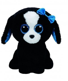 Beanie Boos Dog Tracey Blk/Wht Med 9.5In