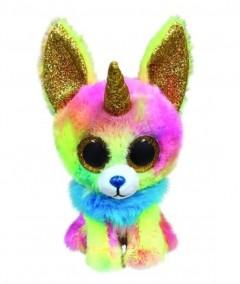 "Beanie Boos Dog Yips Horn Pastel Med 9"""