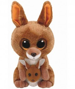 Beanie Boos Kangaroo Kipper Brwn Reg 6In