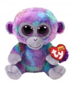 Beanie Boos Monkey Zuri Multi Med 10In