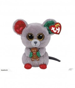 Beanie Boos Mouse Mac Grey Regular 6In