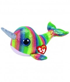 Beanie Boos Narwhal Nori Med 8In