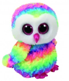 Beanie Boos Owl Owen M.Color Med 10In