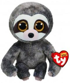 Beanie Boos Sloth Dangler Grey Med 10In