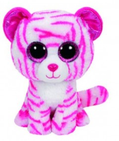 Beanie Boos Tiger Asia White Med 9In