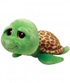 Beanie Boos Turtle Zippy Green Med 10In
