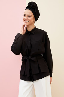 Belted Relax Fit Tunic 8682446517643  S