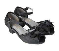 BERALLE Girls Black Sandals -28