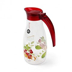 Bisfree Classic Water Bottle 970Ml Red/Cherry