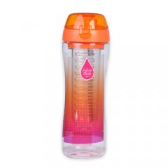 Bisfree Sports Infuser Bottle 650Ml Orange