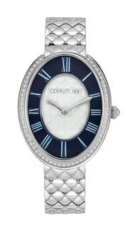 Cerruti 1881 Parrera Women's Dial Color D.Blue CRWM23002