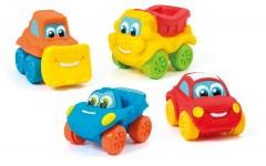 Clementoni Baby Car Soft&Go 18Pcs Dplay