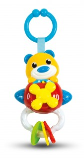 Clementoni Baby Rattle Bear On Plane B/O