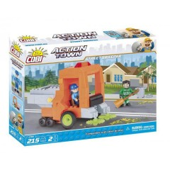 Cobi 1784 Action Town Street Sweeper 215 Pieces