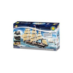 Cobi 21078 Smithsonian Ship Uss Constitution 800 Pieces