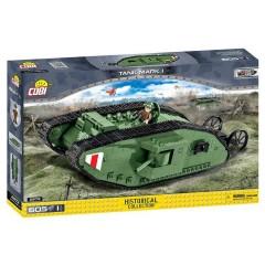 Cobi 2972 Small Army Tank Mark I 600 Pieces