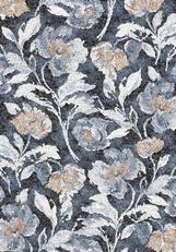 Coloured Floral Design Carpet Rug 133x195
