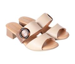 COMFORTFLEX Brown Women Heels -  36