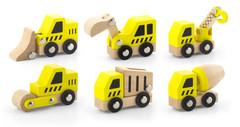 Construction Vehicles  6pcs Set