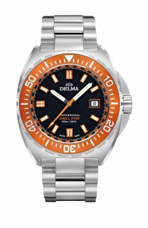 Delma Shell Star Stainless Steel Watch