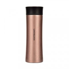 Diamond Tumbler 300Ml Golden Pink