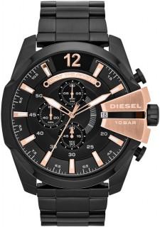 Diesel Chi Chronograph Black Dial Mens Watch