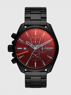 Diesel Chrono Analog Red Dial Mens Watch