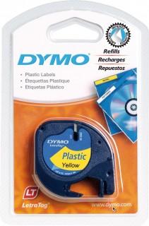 Dymo  Tape 12Mmx4M Lt Paper Labels (91200)