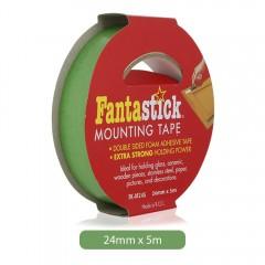"Fantastick   Mounting Tape 1""X5M (24Mm) Fk-M245"